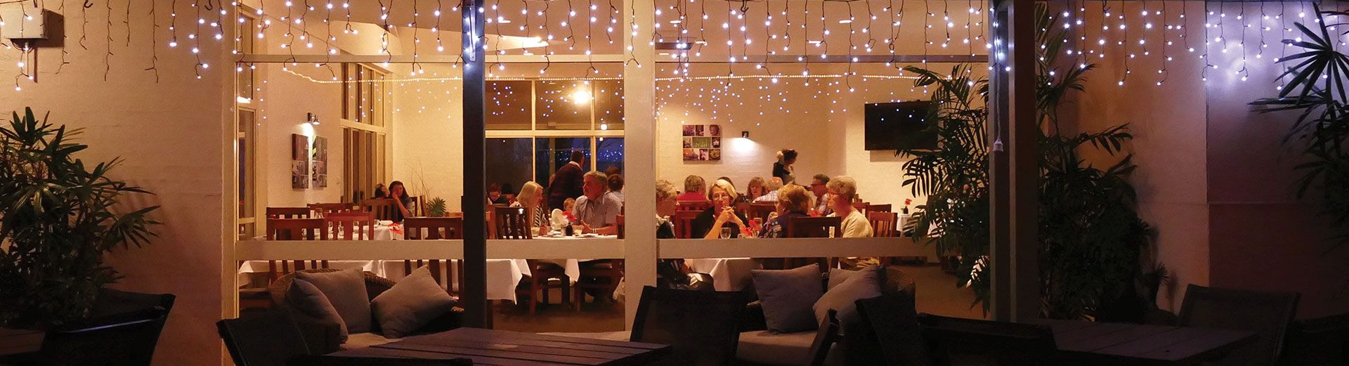 Dinner at The Terrace Restaurant