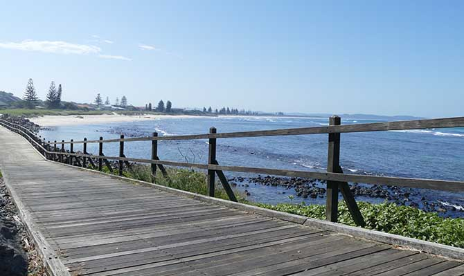 Lennox Head walk