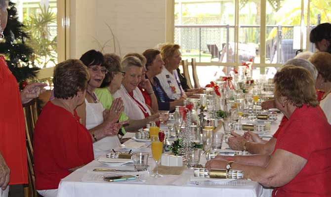 Islander Resort Gallery events Christmas Lunch
