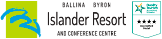 Ballina Byron Islander Resort and Conference Centre logo